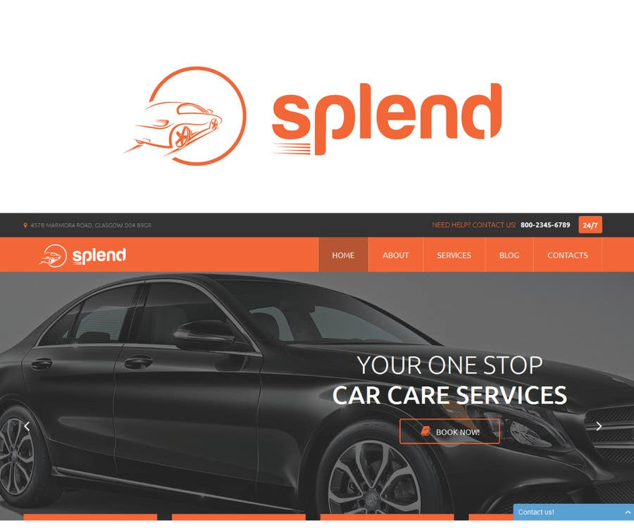 Penyertaan Peraduan #87 untuk Design a Logo for Splend