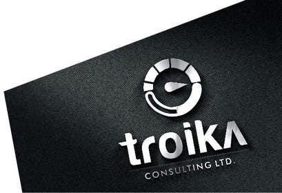 #9 untuk Design a Logo for Troika Consulting Ltd. oleh rajsrijan