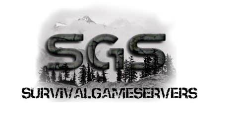 Penyertaan Peraduan #9 untuk Design a Logo for SurvivalGameServers.Com 350x75 Pixels MAX