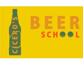 #5 cho Design a Logo for Cicero's Beer School bởi AlexDiachenko