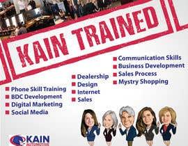 #100 untuk Design a Banner for Kain Trained Campaign oleh zeddcomputers