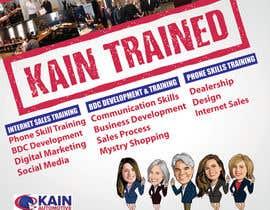 #101 untuk Design a Banner for Kain Trained Campaign oleh zeddcomputers