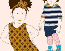 biejonathan tarafından Illustrate fashion & lifestyle for a Kids eclectic clothing line collection  - Stage1 için no 21
