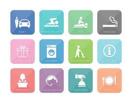 #17 for Hotel App Icons by whitishblack