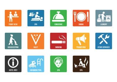 khadkamahesh07 tarafından Hotel App Icons için no 31