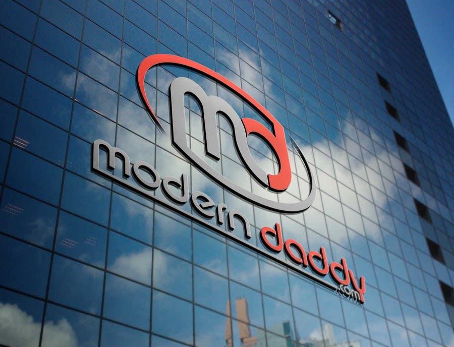 Penyertaan Peraduan #125 untuk Design a Logo for Modern-Daddy.com