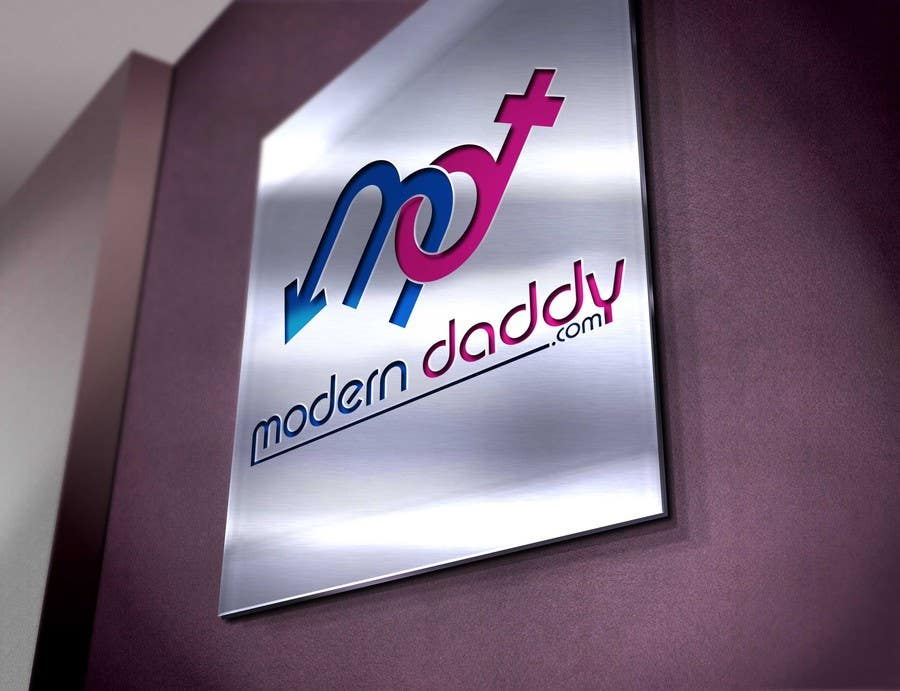 Penyertaan Peraduan #135 untuk Design a Logo for Modern-Daddy.com