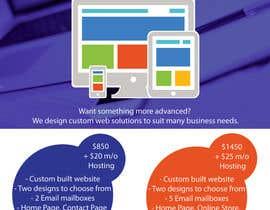 #3 for Design a Flyer for Web Design and Web Hosting company af Aleshander