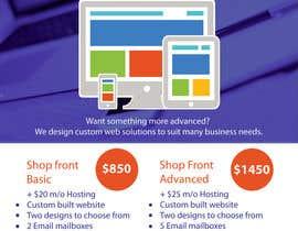 #9 for Design a Flyer for Web Design and Web Hosting company af Aleshander