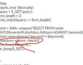 #1 untuk find bug with my search script? oleh saddy007
