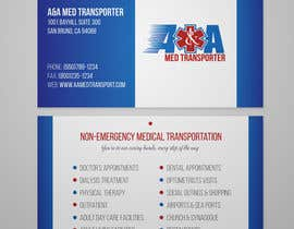 zardzewiaua tarafından Design some Business Cards for Med Transporter için no 23