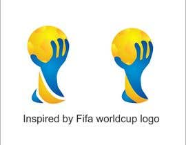#17 untuk Create the FIFA Worldcup trophy into a logo oleh thoughtcafe