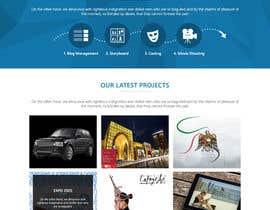 #20 for Design a Website Mockup for beyond films by phpgeek92