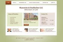 Contest Entry #23 for Website Design for Manewitz & Studholme LLC