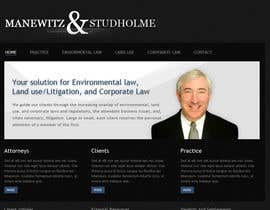 #9 para Website Design for Manewitz & Studholme LLC de andrewnickell