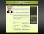 Contest Entry #122 for Website Design for Manewitz & Studholme LLC