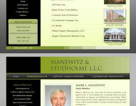 #66 dla Website Design for Manewitz & Studholme LLC przez dand3li8n