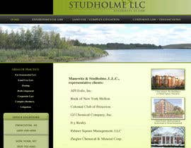 #142 dla Website Design for Manewitz & Studholme LLC przez dand3li8n