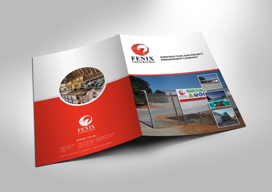 Penyertaan Peraduan #13 untuk Design a multi-purpose brochure for Construction Company
