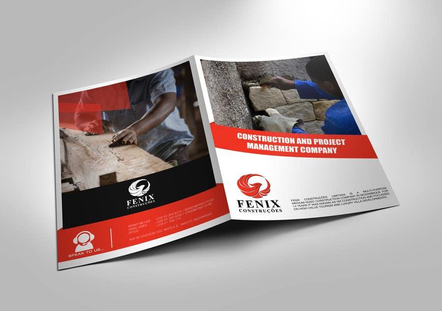 Penyertaan Peraduan #21 untuk Design a multi-purpose brochure for Construction Company