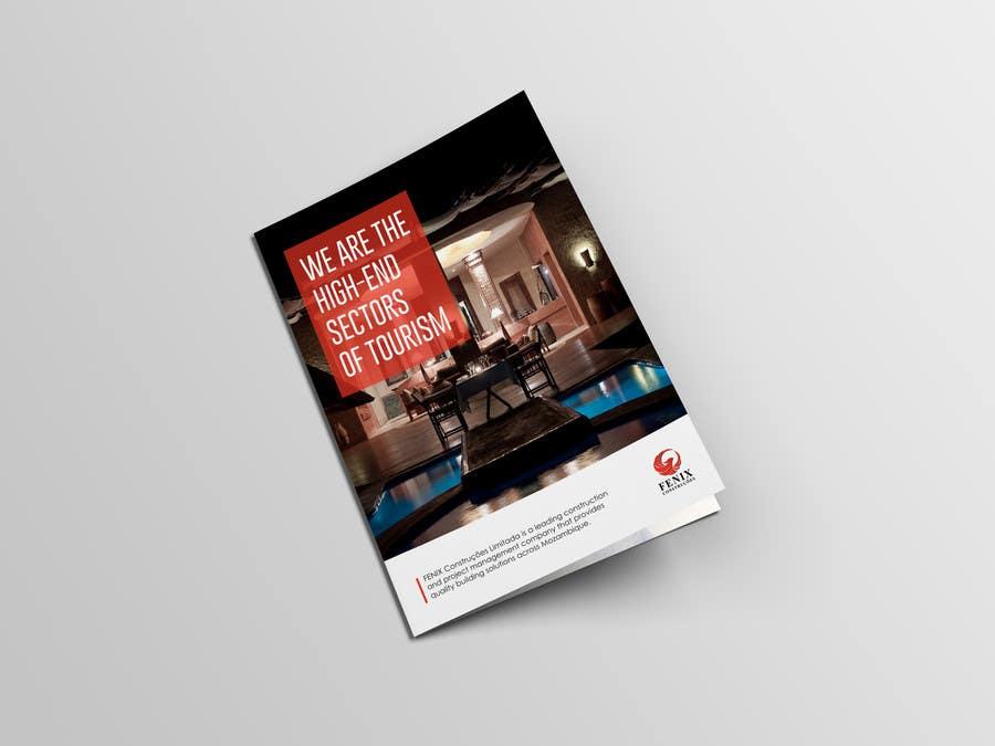 Penyertaan Peraduan #7 untuk Design a multi-purpose brochure for Construction Company