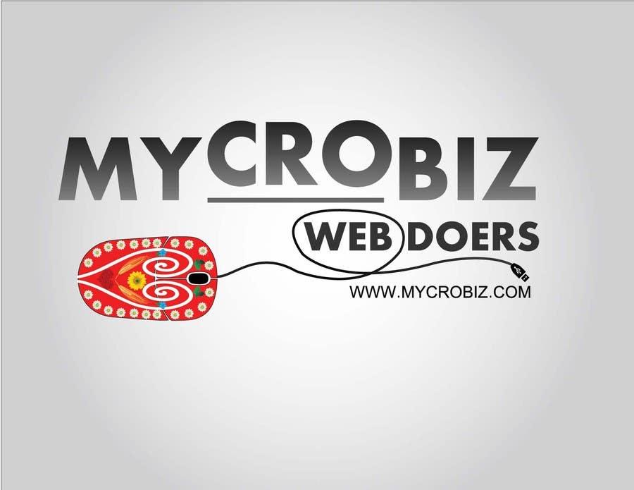 Penyertaan Peraduan #20 untuk Design a Logo for www.mycrobiz.com