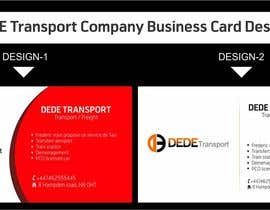 #17 for Design some Business Cards for DEDE Transport by SmartArtStudios