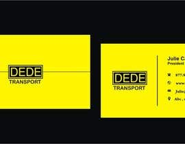 #29 untuk Design some Business Cards for DEDE Transport oleh Shrey0017