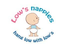#77 para Logo Design for Low's Nappies por fecodi