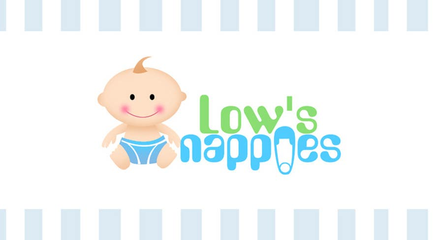 Entri Kontes #103 untukLogo Design for Low's Nappies