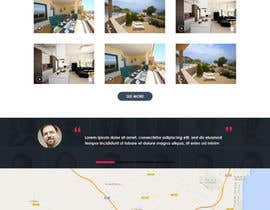 #23 untuk design Website Mockup for a real estate website oleh muhamedibrahim25