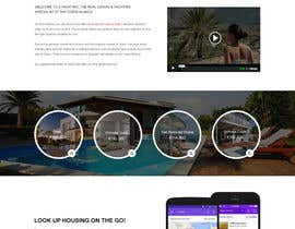 #13 untuk design Website Mockup for a real estate website oleh webidea12