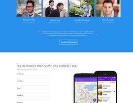 #29 untuk design Website Mockup for a real estate website oleh Ganeshdas