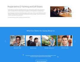 #34 untuk design Website Mockup for a real estate website oleh Ganeshdas
