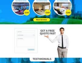 #32 untuk design Website Mockup for a real estate website oleh suranjan89