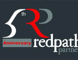 #76 untuk Design a Logo for Redpath Partners' 5 Year Anniversary oleh hieast