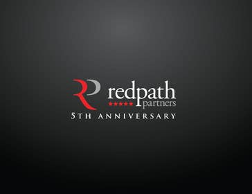 #43 for Design a Logo for Redpath Partners' 5 Year Anniversary af iffikhan