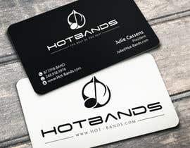 #46 untuk Design some Business Cards for Hot Bands oleh flechero