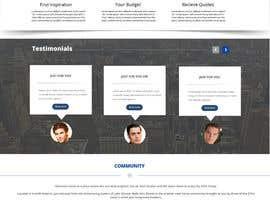 #5 untuk Design a Website home / landing page oleh mahiweb123