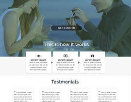 yoyojorjor tarafından Design a Website home / landing page için no 48