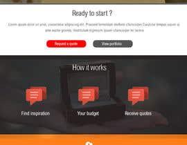 #52 untuk Design a Website home / landing page oleh azzaldesigns