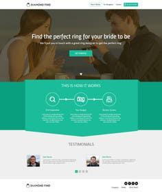 #13 untuk Design a Website home / landing page oleh ankisethiya