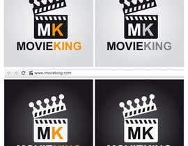 nº 18 pour Design a Logo,Bg,Favicon for moviesite par giriza