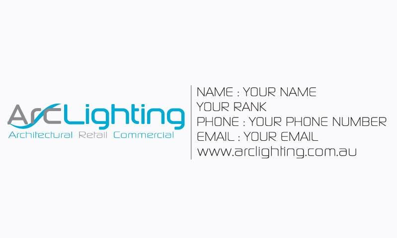 Bài tham dự cuộc thi #38 cho Design a Logo for Arc Lighting