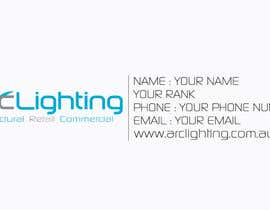 #38 untuk Design a Logo for Arc Lighting oleh XpertgraphicD