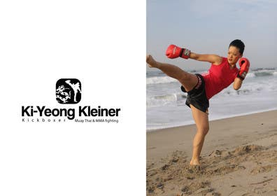 #5 for Design a Logo for Female Kickboxer by creativeartist06