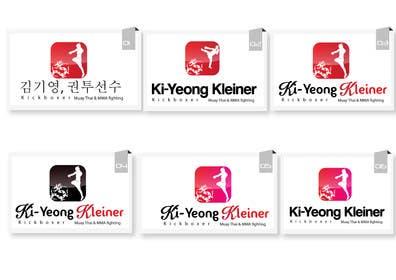 #69 para Design a Logo for Female Kickboxer por creativeartist06