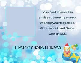 #26 cho Birthday greeting contest bởi priyav09