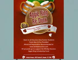 #13 for Design a Flyer for Aggie Ring Re-Dunk by jawadbhatty