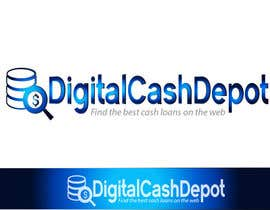Nro 21 kilpailuun Design a Logo for Digital Cash Depot - An online site to help people find good loans at good rates käyttäjältä inspirativ